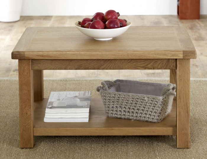 Priory Oak Small Coffee Table