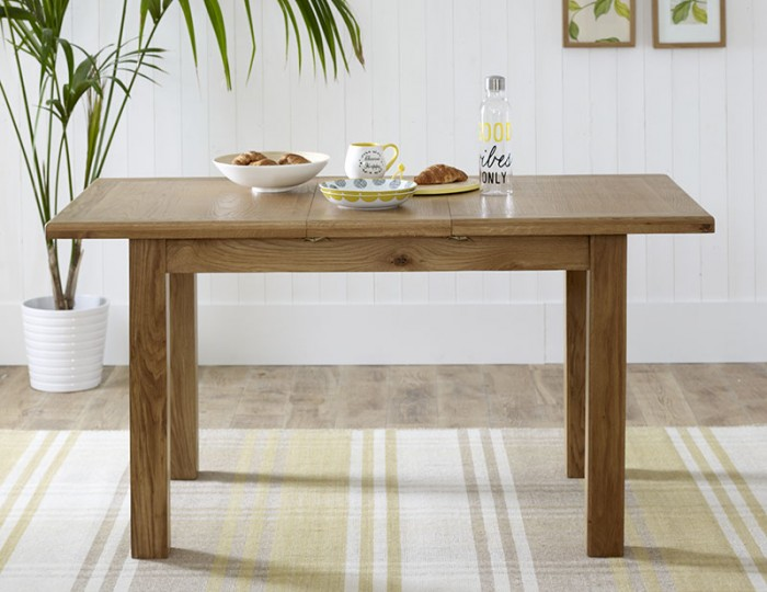Priory Oak Small Extending Dining Table