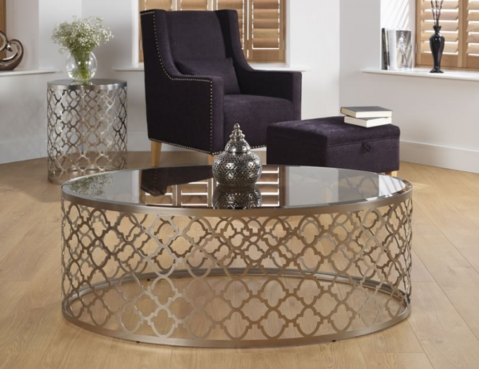 Bianca Smoked Glass Coffee Table Frances Hunt