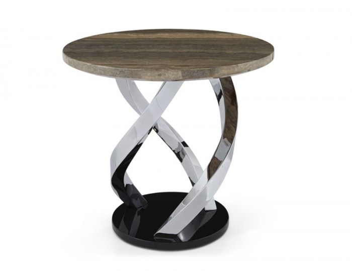Pandora Marble Effect Lamp Table