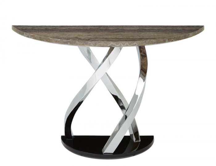 Pandora Marble Effect Console Table