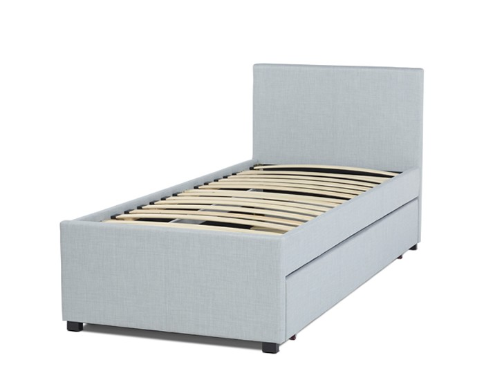 Lily Ice Upholstered Bed and Guest Bed