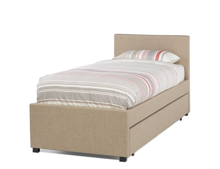 Lily Wholemeal Upholstered Bed and Guest Bed