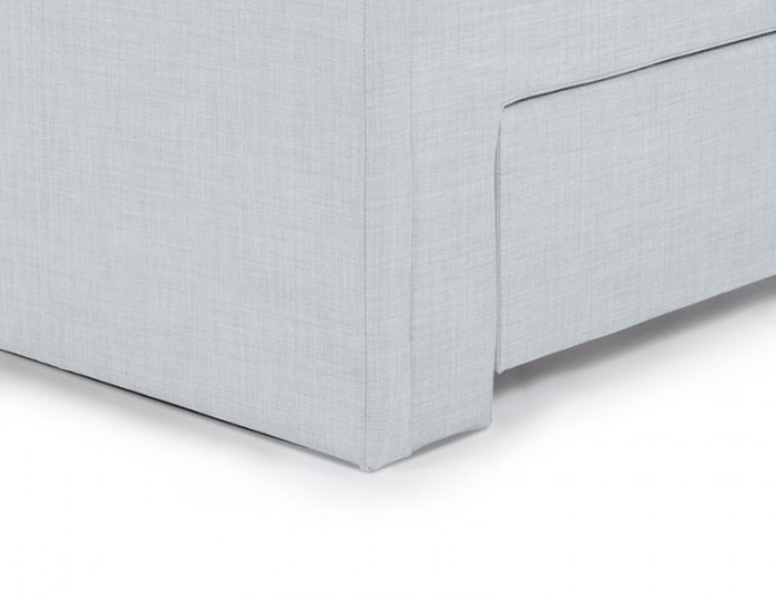 Scarlett Ice Upholstered Bed