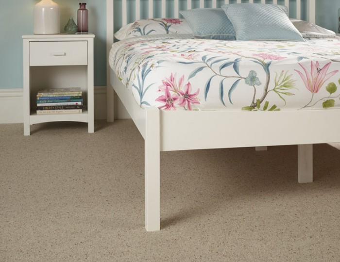 Beatrice Opal White Hevea Bed Frame