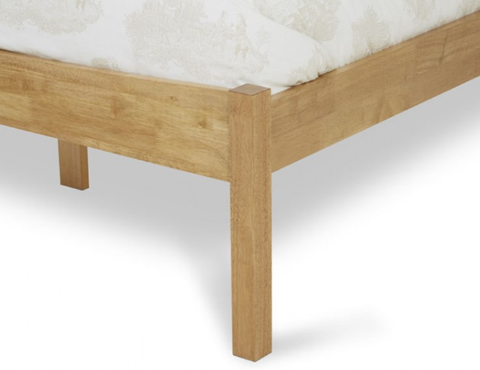Beatrice Honey Oak Hevea Bed Frame