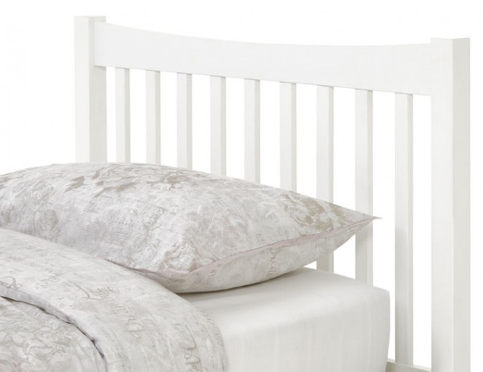 Beatrice Opal White Hevea Guest Bed