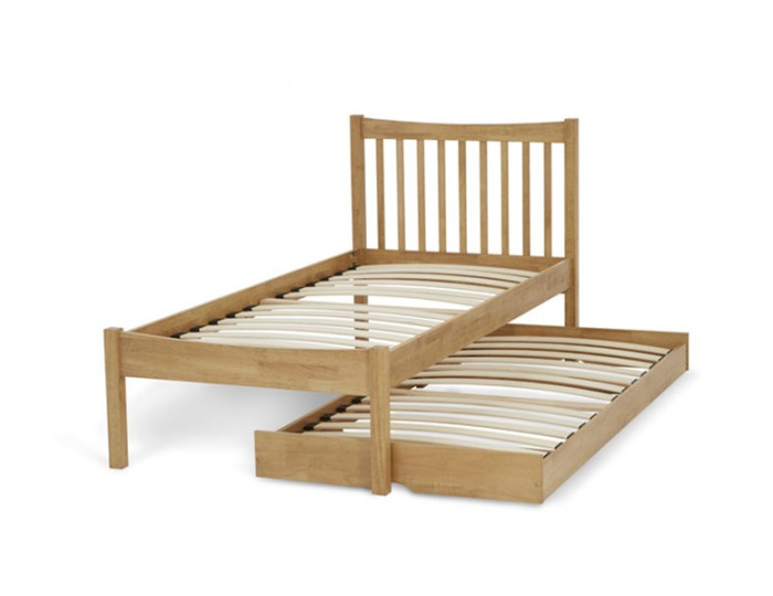 Beatrice Honey Oak Hevea Guest Bed