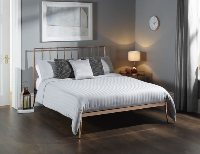 saturn rose gold metal bed frances hunt 11703 | 13450 1
