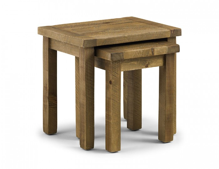 Aspen Solid Pine Nest of Tables