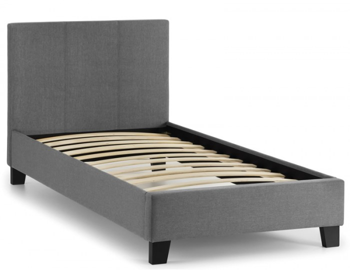 Rialto Grey Upholstered Bed