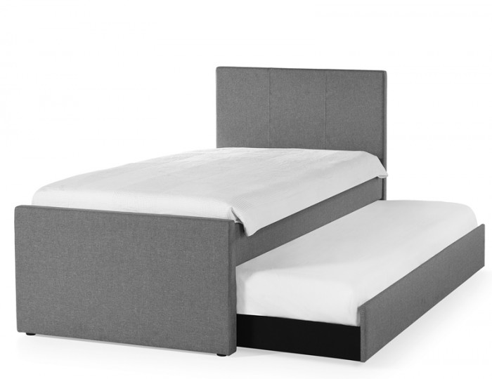 Rialto Grey Upholstered Guest Bed