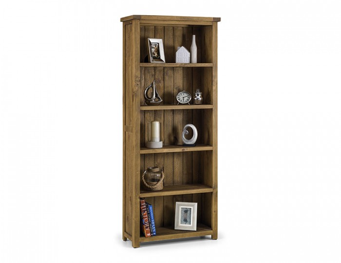 Aspen Solid Pine Tall Bookcase