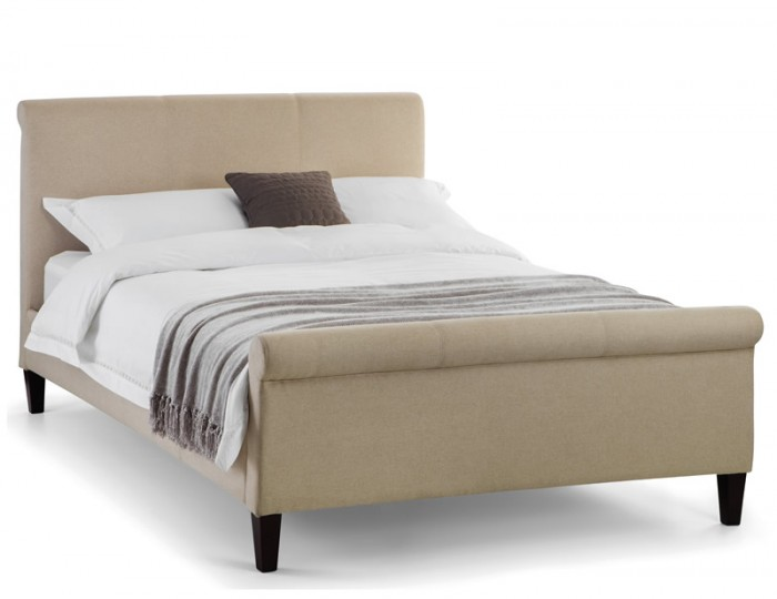 Providence Sand Fabric Bed Frame