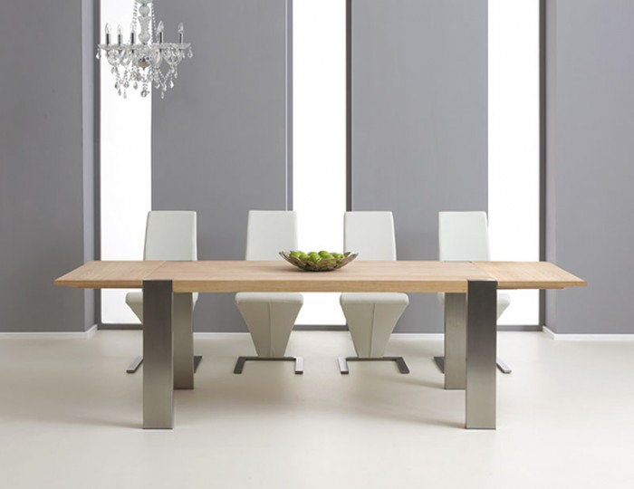 Burlington Oak Extending Dining Table and Chairs