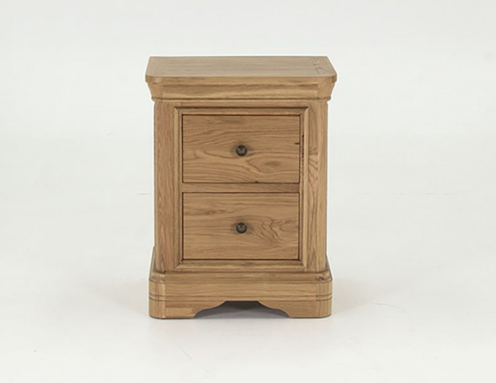 Harmony Premium Oak Bedside Chest
