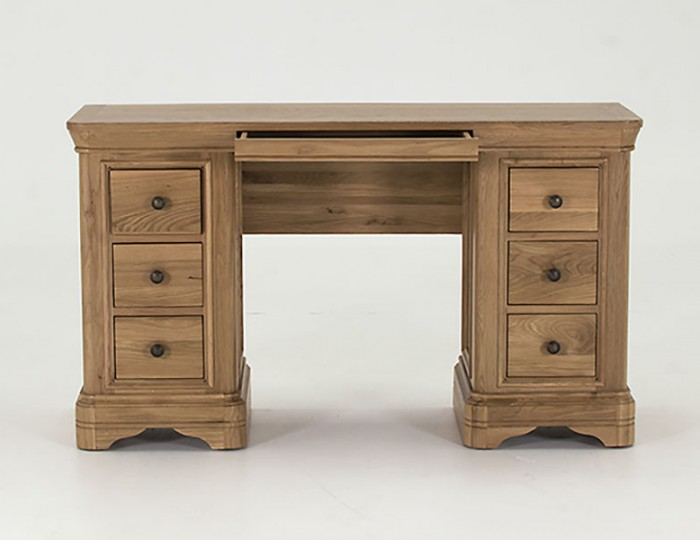 Harmony Double Premium Oak Dressing Table