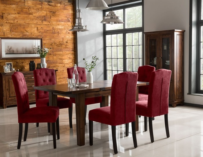 Pendock Acacia Small Extending Dining Set