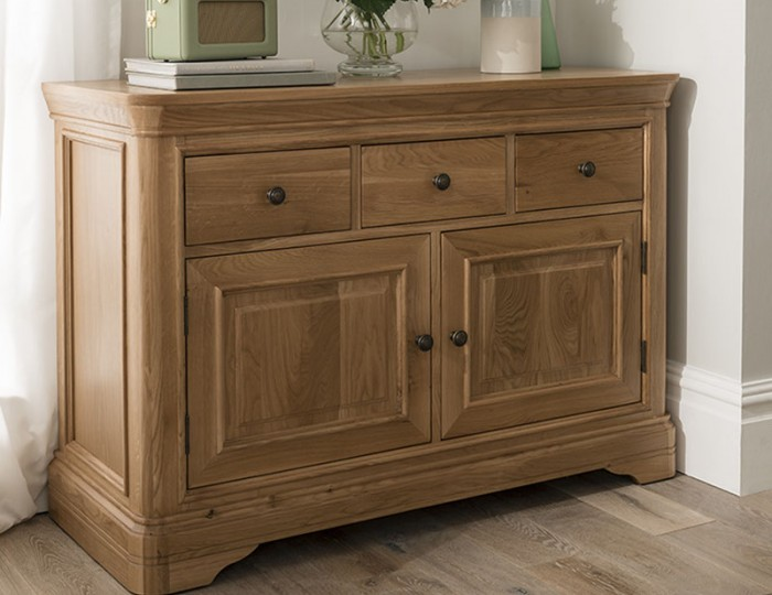 Harmony Premium Oak Medium Sideboard