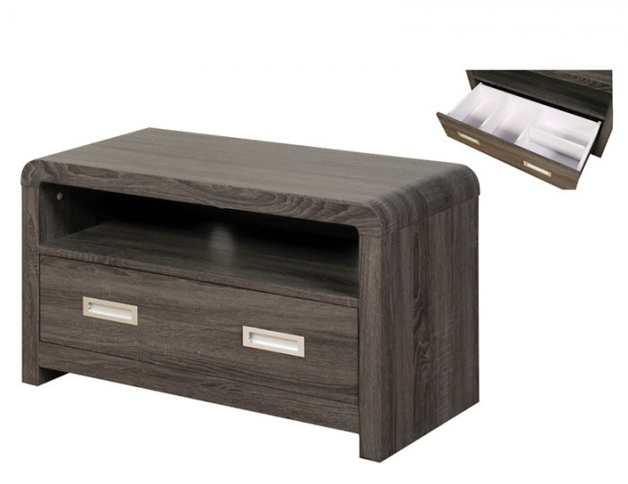 Deloro Charcoal Oak TV Unit