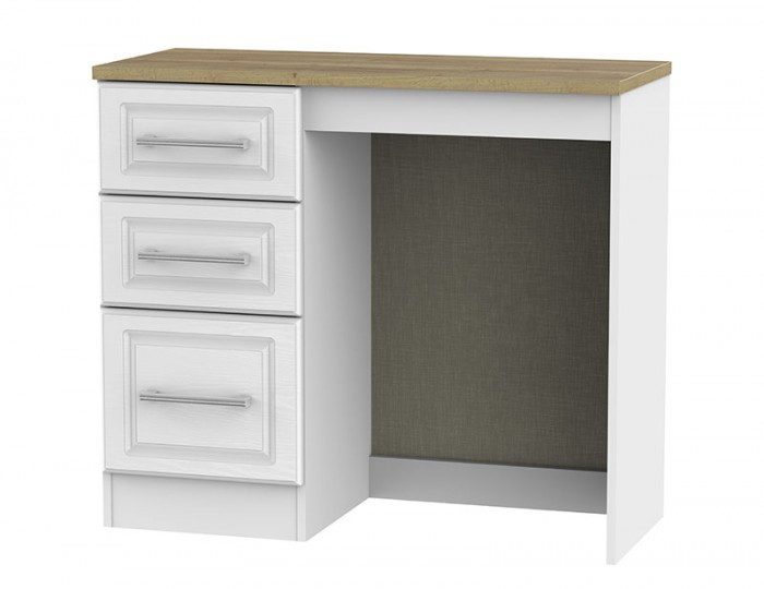 Winchester White Ash and Oak Single Dressing Table