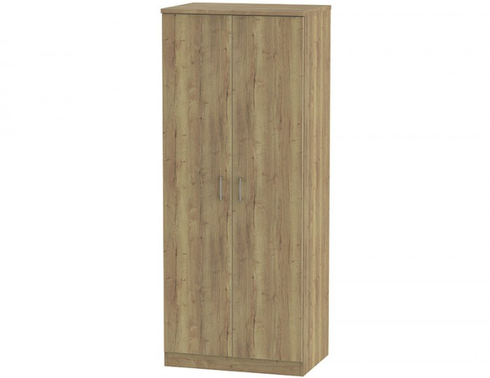 Devon Sterling Oak 2 Door Wardrobe