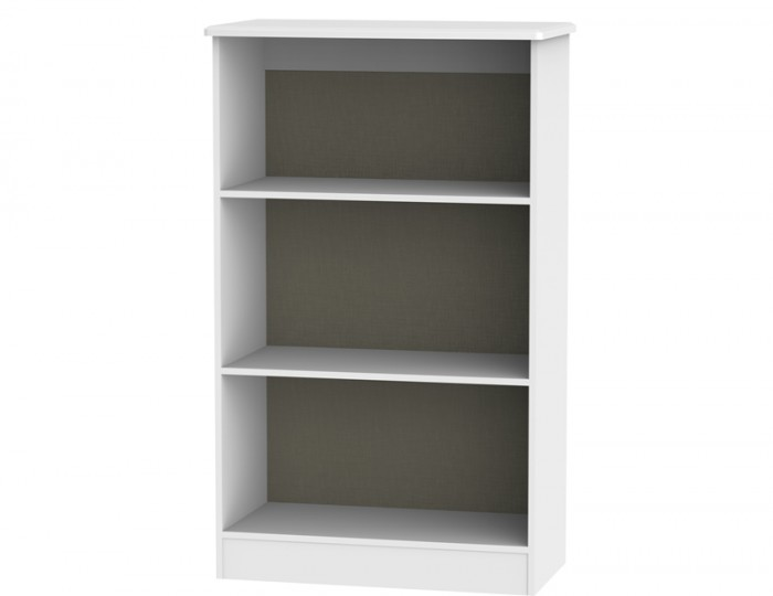 Castle White Bookcase
