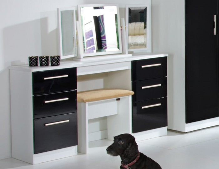 Rook Mix 'n' Match Double Dressing Table