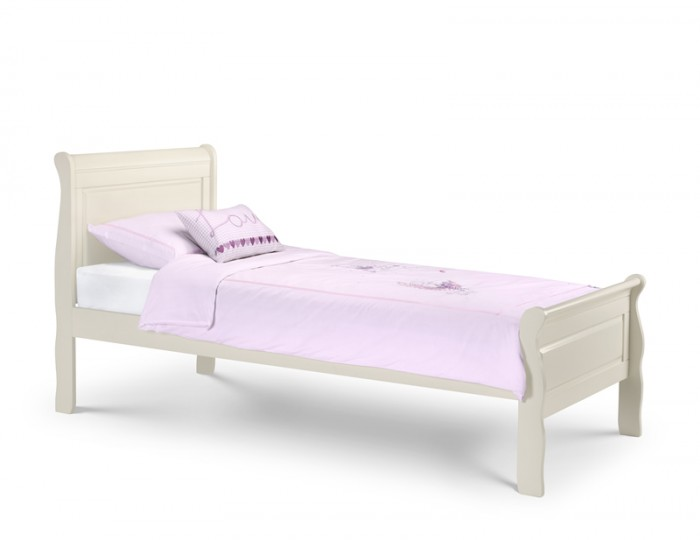 Husky Wooden Sleigh Bed