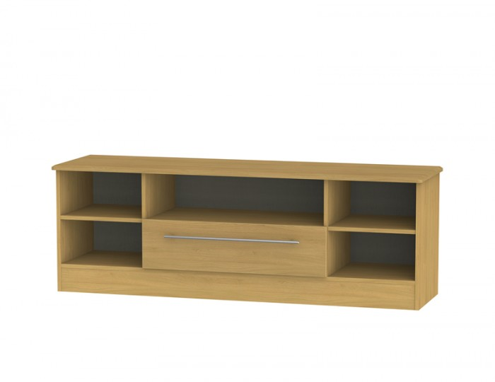 Siero Oak Open Wide TV Unit