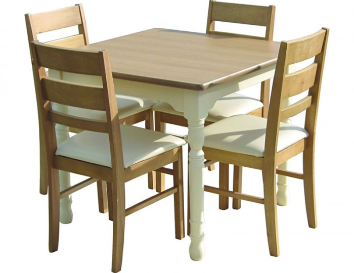 Dennis Square Kitchen Table and Chairs