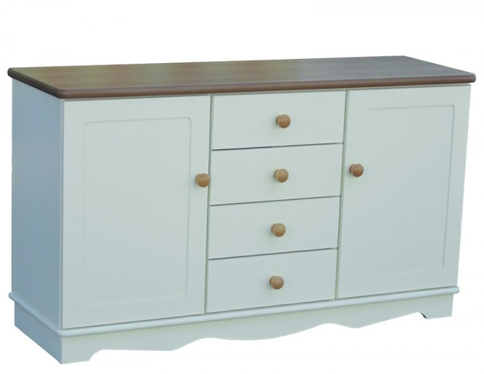 Dennis Large Wooden Sideboard