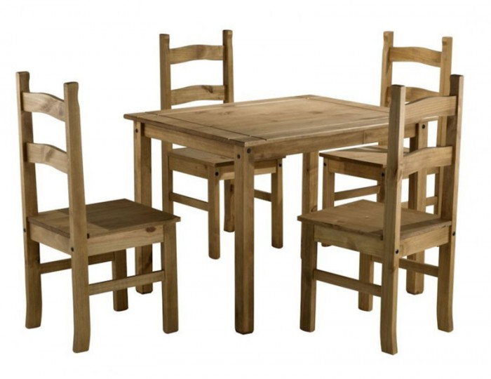 Corona Breakfast Table and Chairs