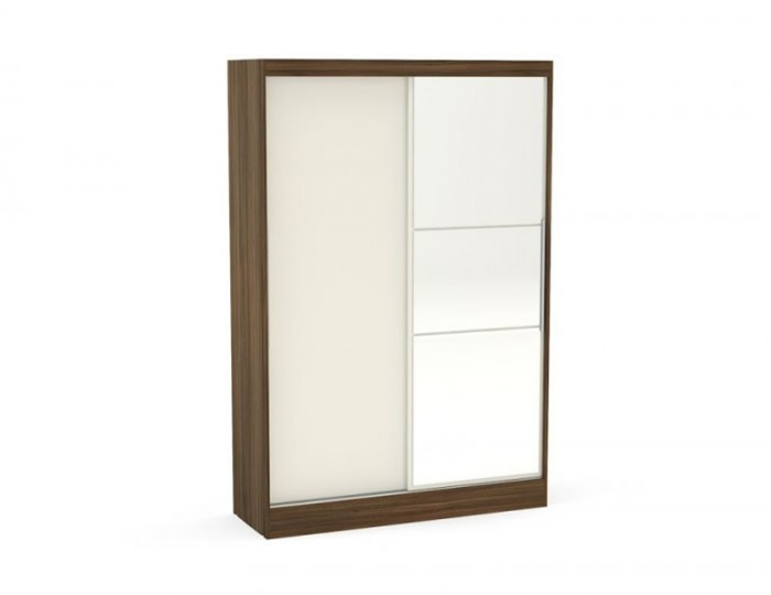 Laura 2 Door Sliding Wardrobe with Mirror