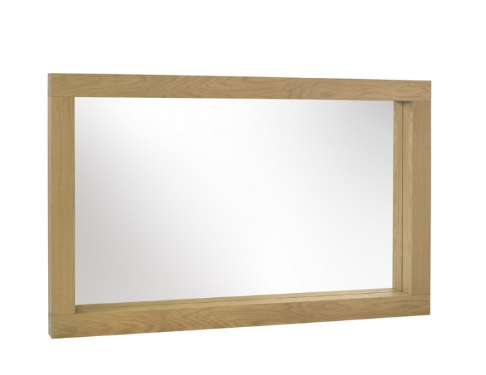 Ventura Light Oak Wall Mirror