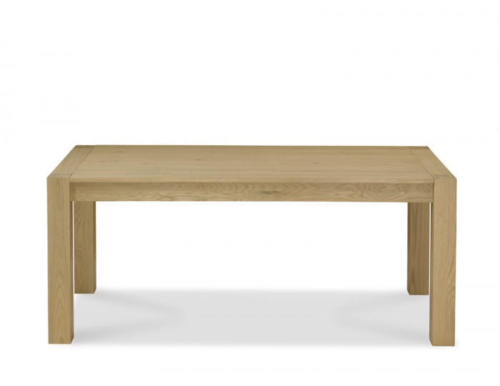 Ventura Light Oak Double End Extending Dining Table