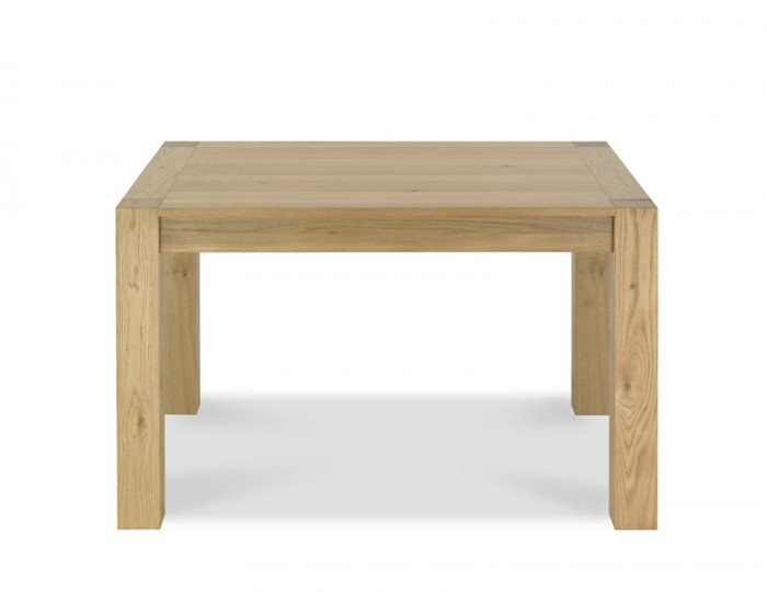 Ventura Light Oak Small End Extending Dining Table