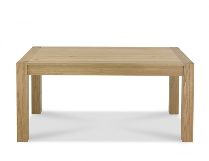 Ventura Light Oak Medium End Extending Dining Table