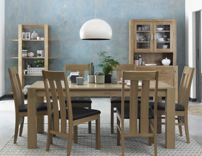 Ventura Light Oak Medium End Extending Set