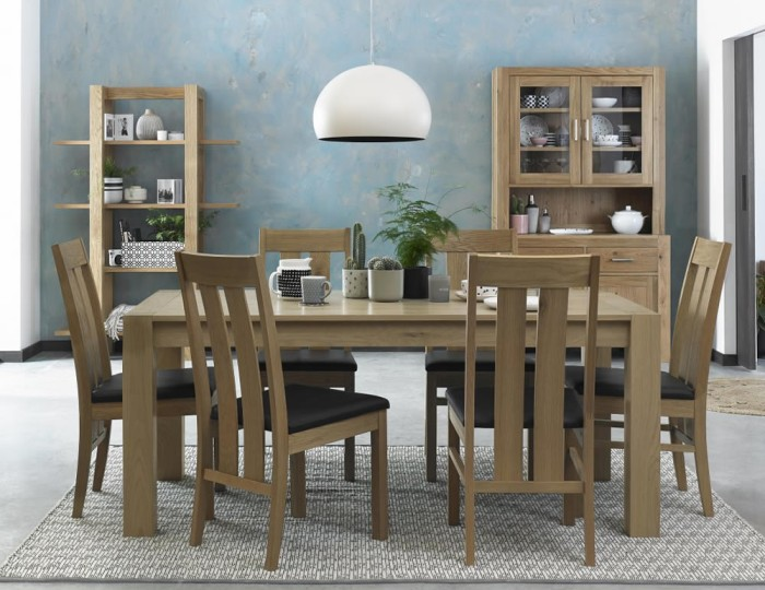 Ventura Light Oak Medium Dining Set