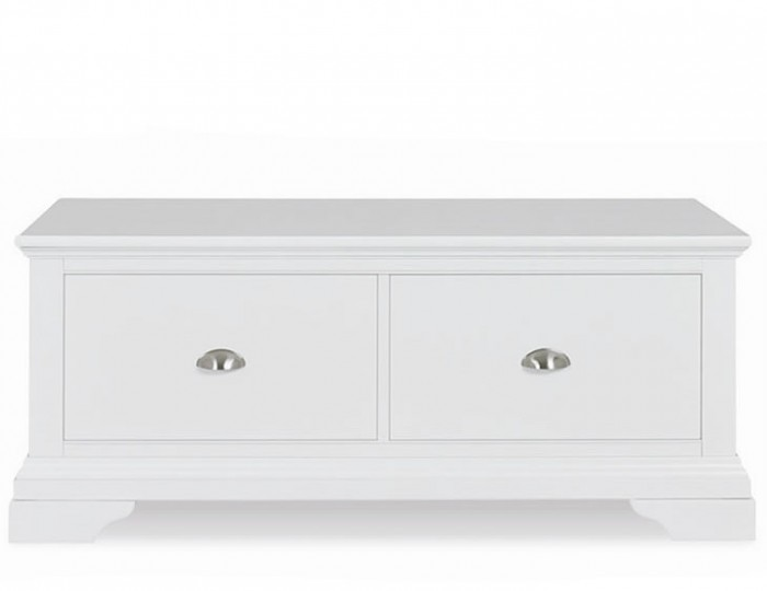 Hampstead White Painted Oak Blanket Box