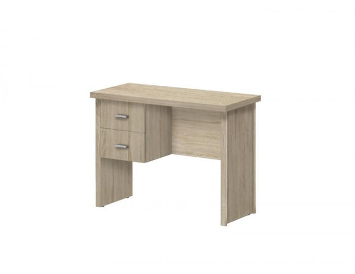 Benji Small Wooden 2 Drawer Desk