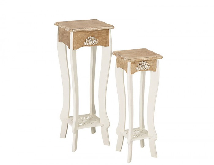 Candace Two-Tone Plant Tables