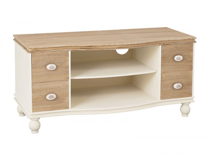 Candace Two-Tone TV Unit