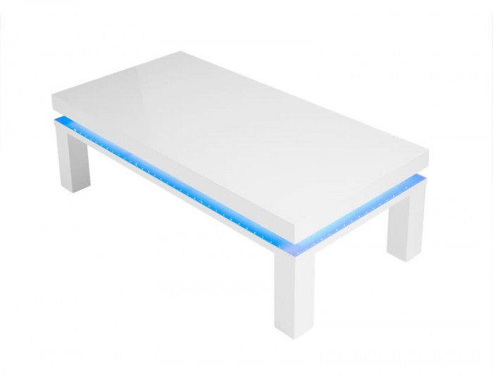 Siena High Gloss LED Coffee Table