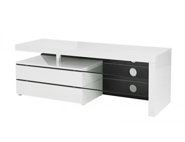 Siena High Gloss LED and Glass TV Unit