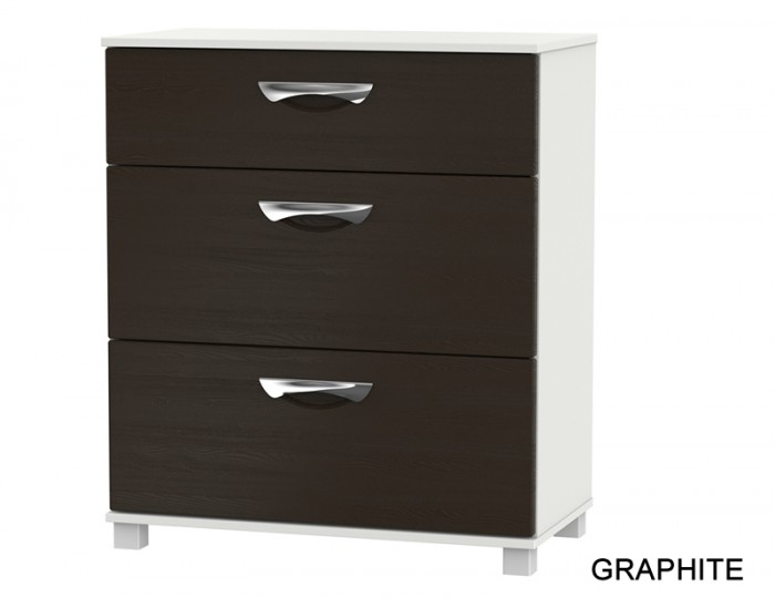 Somerset 3 Drawer Deep Chest