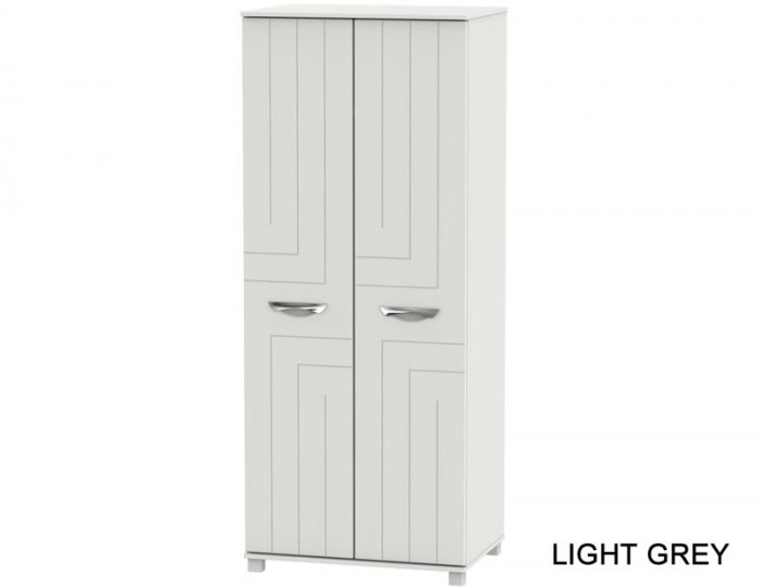 Somerset 2 Door Plain Wardrobe