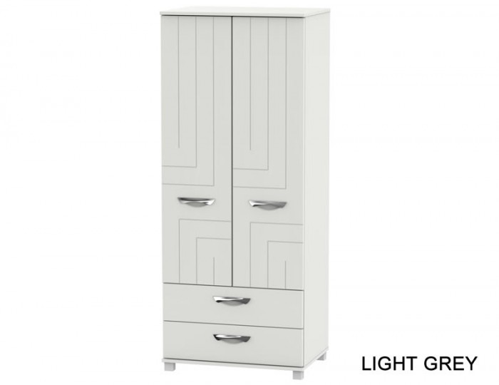 Somerset 2 Door 2 Drawer Wardrobe
