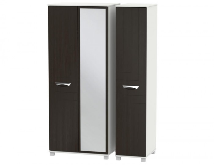 Somerset 3 Door Mirror Wardrobe
